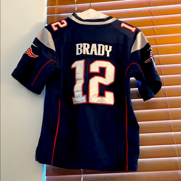 Kids Tom Brady Patriots Jersey
